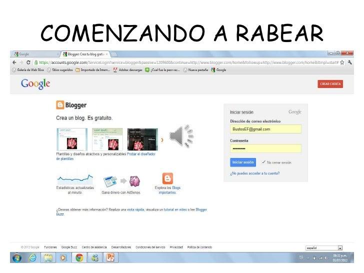 COMENZANDO A RABEAR