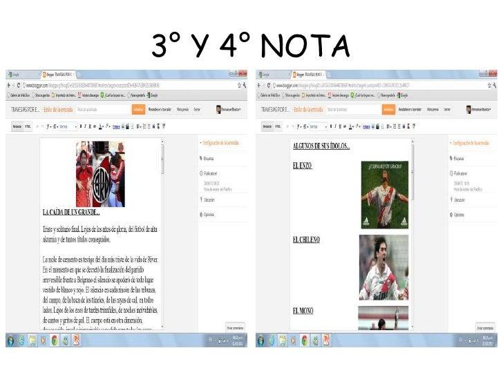 3° Y 4° NOTA