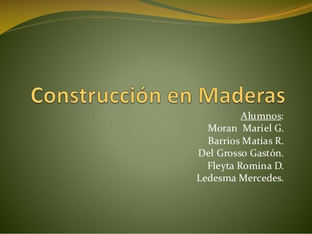 Alumnos: Moran Mariel G. Barrios Matías R. Del Grosso Gastón. Fleyta Romina D. Ledesma Mercedes.