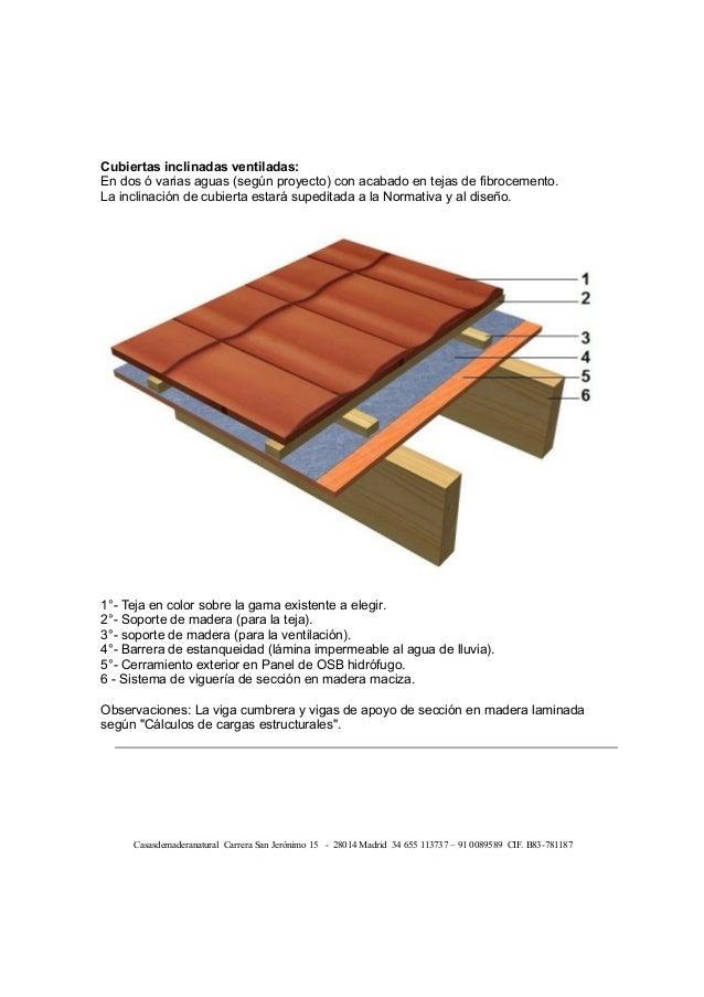 Construcci n estructura de madera tabiques suelos techos y cubi - Estructuras de madera para techos ...