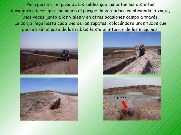 Construcción y montaje de un parque eólico (r)