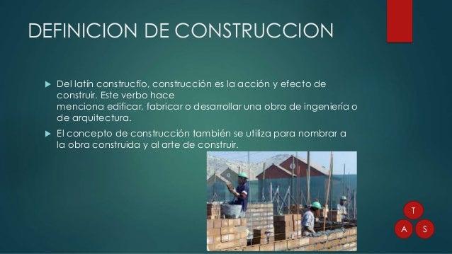 Construccion for Que es arquitectura definicion