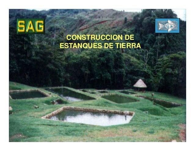 Construccion De Estanques De Tierra C