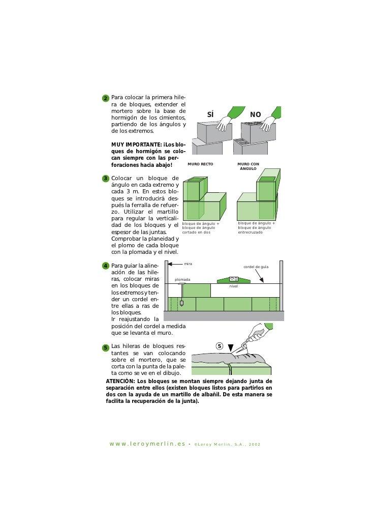 Construccion de paredes con bloques de cemento - Bloques para muros ...