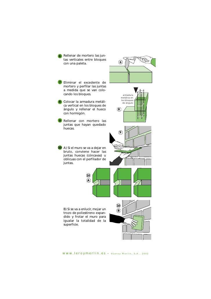 Construccion de paredes con bloques de cemento for Mortero para juntas exterior