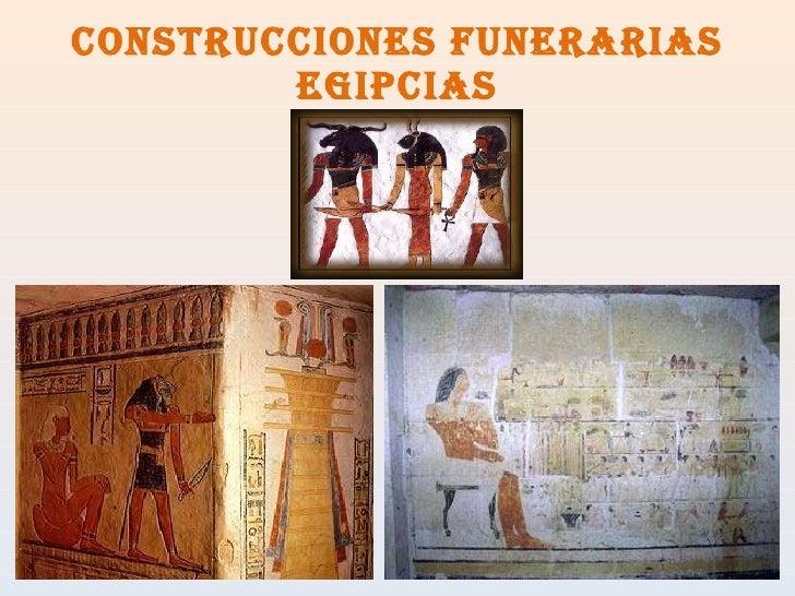 Construcciones funerarias egipcias
