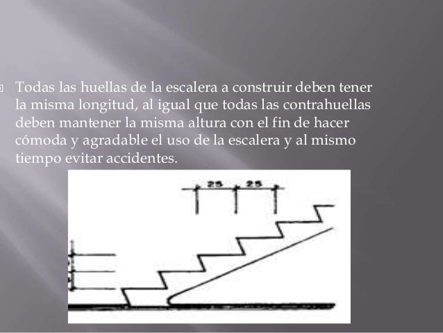 Construcion de escaleras en concreto for Trazar una escalera