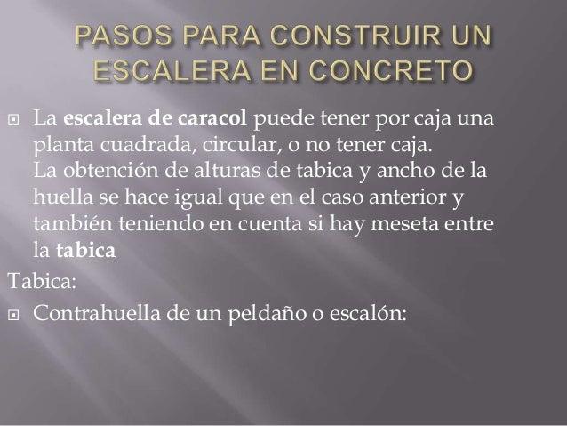 Construcion de escaleras en concreto - Que hay que hacer para alquilar un piso ...