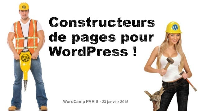 WordCamp PARIS - 23 janvier 2015
