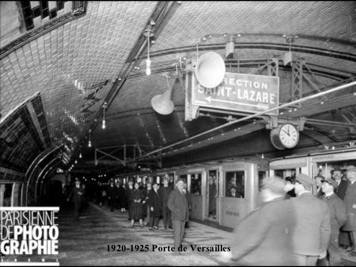 Construction du metro a paris - Porte de versailles metro ...