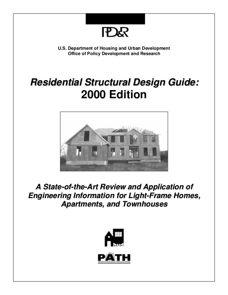 U.S. Department of Housing and Urban Development              Office of Policy Development and Research     Residential St...