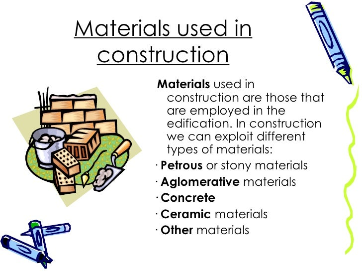 Construction materials for Names of roofing materials