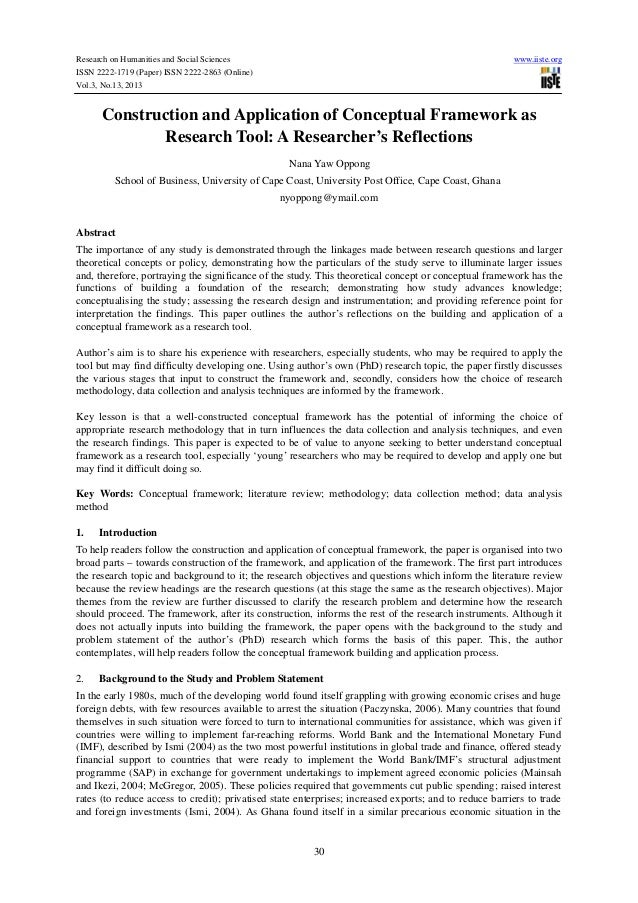 Research on Humanities and Social Sciences www.iiste.org ISSN 2222-1719 (Paper) ISSN 2222-2863 (Online) Vol.3, No.13, 2013...