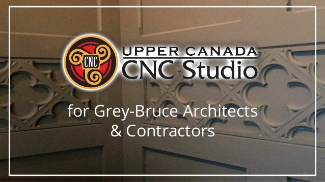 for Grey-Bruce Architects & Contractors