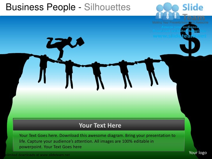 Business People - Silhouettes                                                                                          $  ...