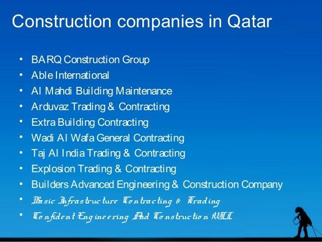Construction companies in qatar - qatpedia com