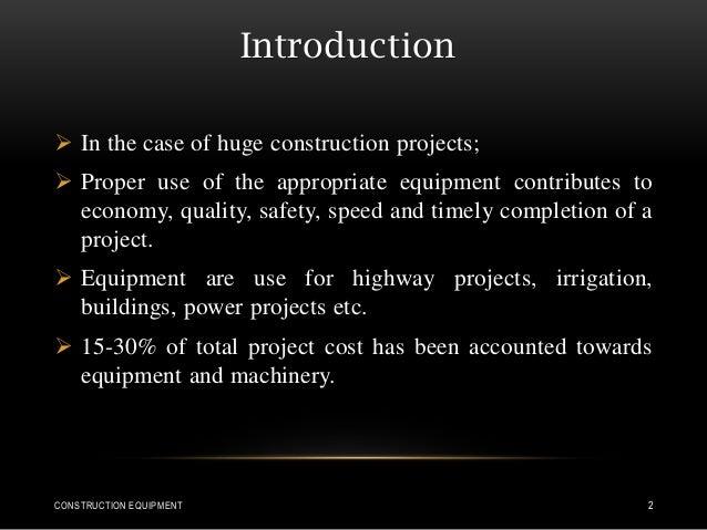 Construction equipment Slide 2