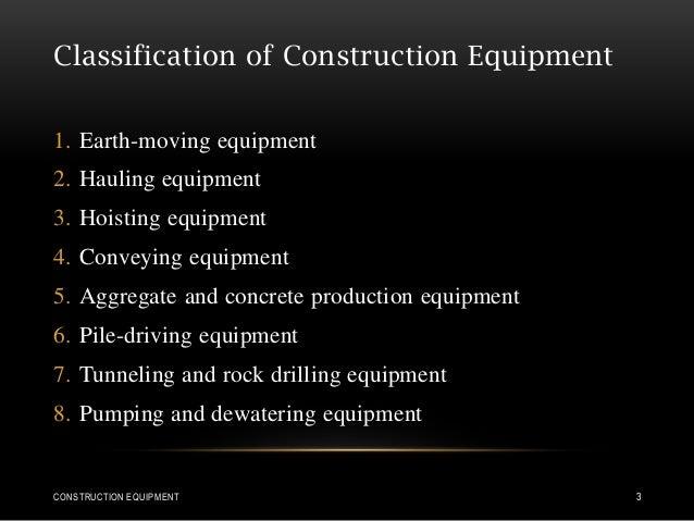 Construction equipment Slide 3