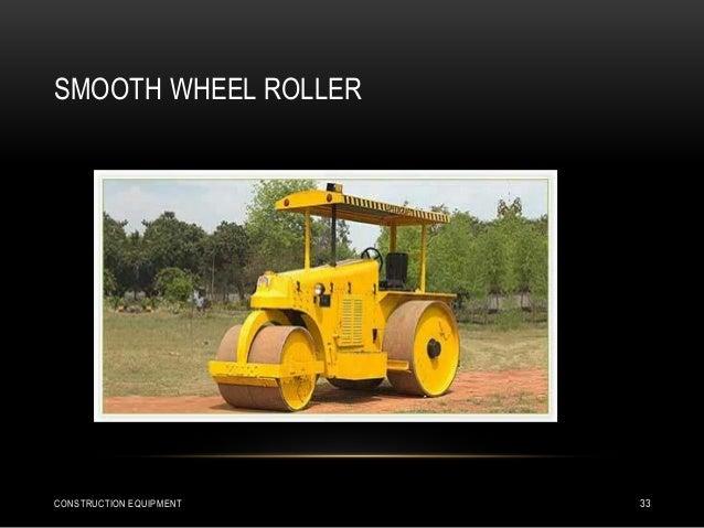 SMOOTH WHEEL ROLLER CONSTRUCTION EQUIPMENT 33