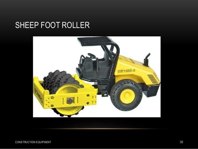 SHEEP FOOT ROLLER CONSTRUCTION EQUIPMENT 35