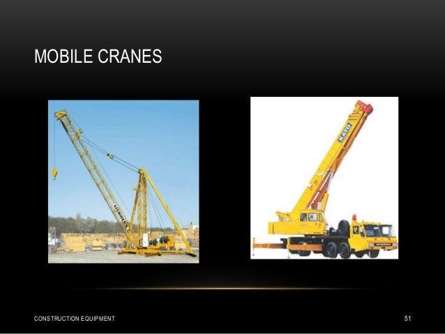 MOBILE CRANES CONSTRUCTION EQUIPMENT 51