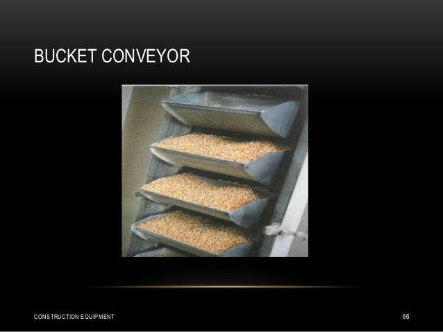 BUCKET CONVEYOR CONSTRUCTION EQUIPMENT 66