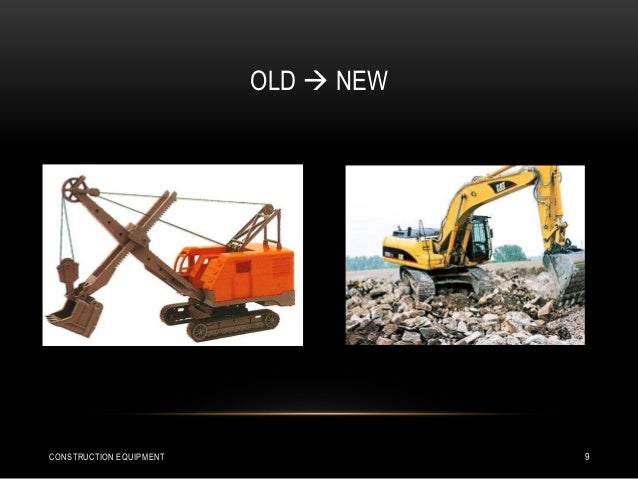 OLD  NEW CONSTRUCTION EQUIPMENT 9