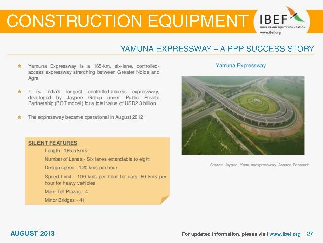 Source: Indian Earthmoving & Construction Industry Association Ltd (IECIAL), Indian Brand Equity Foundation (IBEF), Aranca...