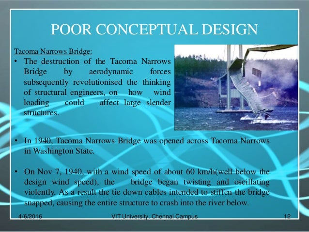 tacoma narrows bridge study Collapse of tacoma narrows bridge november 7, 1940 in tacoma, washington, usa masayuki nakao (institute of engineering innovation, school of engineering, the university of tokyo) the tacoma narrows bridge in the state of washington was completed and opened to traffic on july 1, 1940 the bridge was the first of its type to employ plate girders.