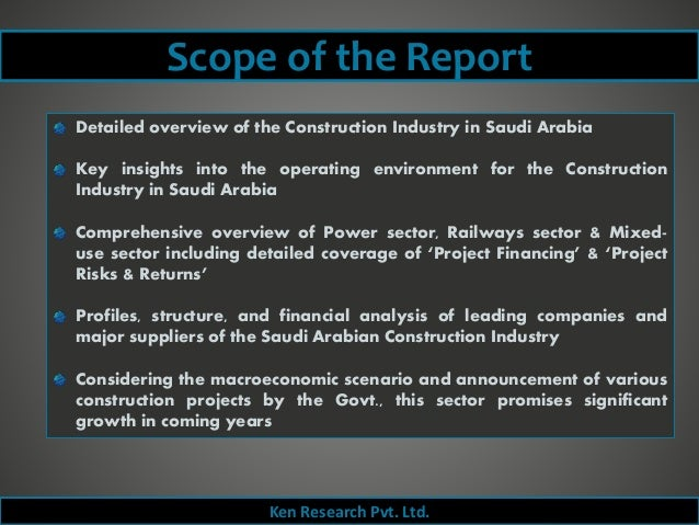 Construction Industry In Saudi Arabia: Trends