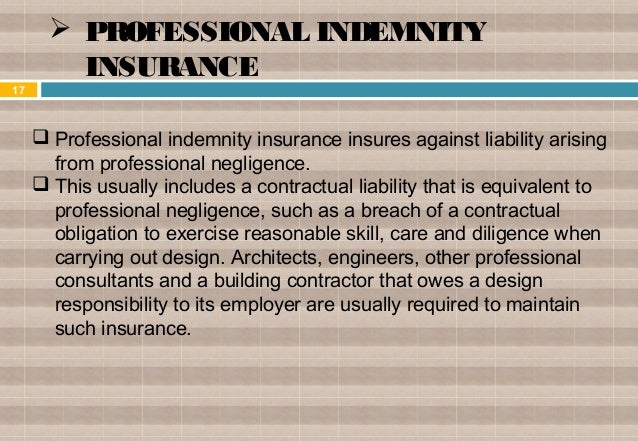 15.  PRODUCT LIABILITY INSURANCE ...