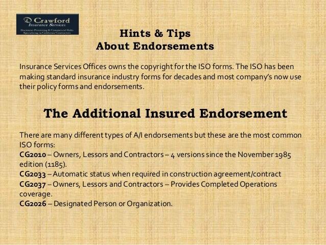 Construction Insurance Specialist