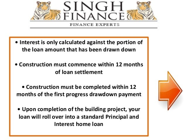 Know everything about construction loan and build your Interest only construction loan