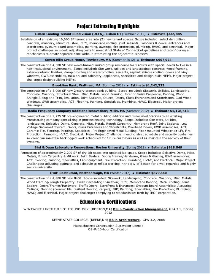Beautiful Hvac Project Manager Resume Pictures - Best Resume ...