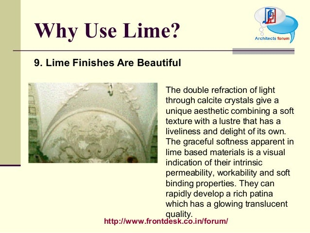 using lime as a construction material You are here: home / lime basics / uses of lime / construction / soil stabilzation  the savings came from treating the existing subgrade material with lime .