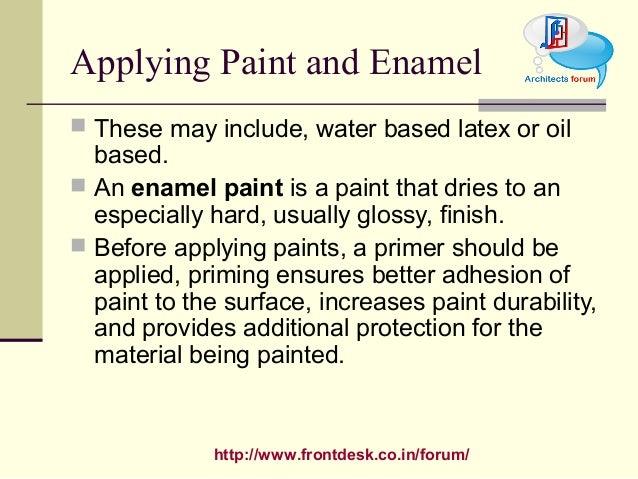 Construction material paint