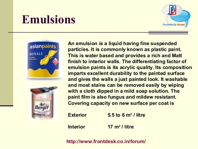 Difference Between Exterior And Interior Emulsion Paint Apex Weatherproof Emulsion Water Based