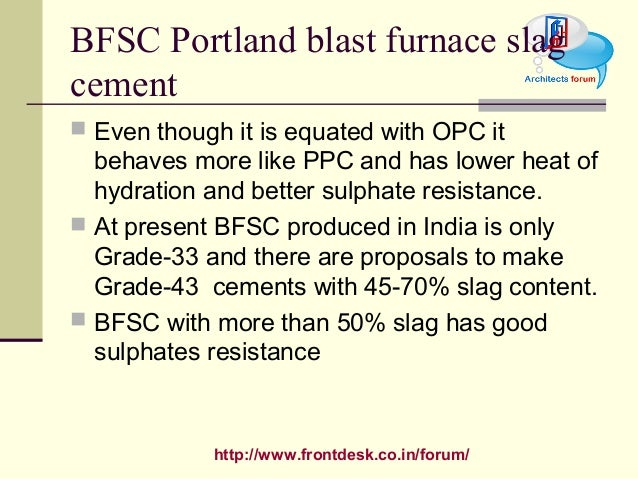 Slag Cement Grade : Construction material cement