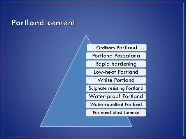 Portland Blast Furnace Cement : Construction materials