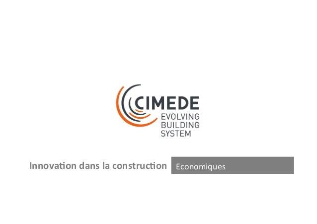 (1)  ZOOM  Caractéris+ques  Système  construc-f  CIMEDE  Murs  extérieurs