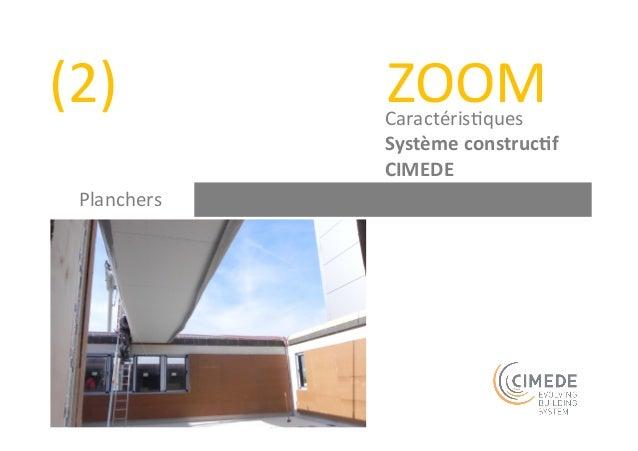 (5)  ZOOM  Caractéris+ques  Système  construc-f  CIMEDE  Règles  construc+ves