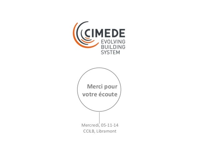 LUXEMBOURG CREATIVE 5/11/2014 : La construction modulaire en bois au service du multi-générationnel et de l'évolution de l...