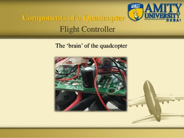 The 'brain' of the quadcopter Components of a Quadcopter Flight Controller