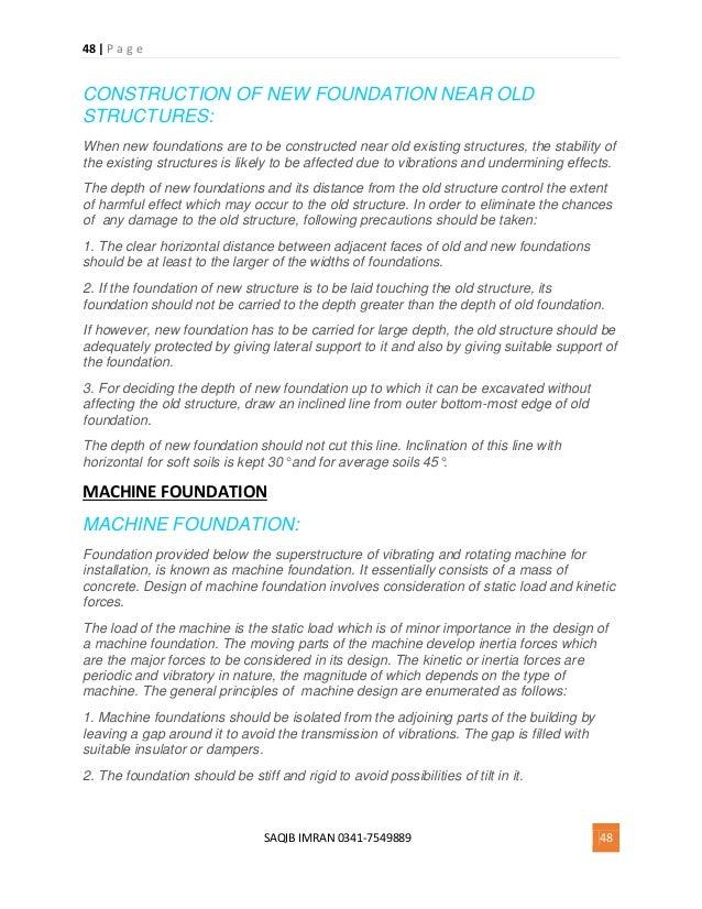 Machine Foundation Design Pdf
