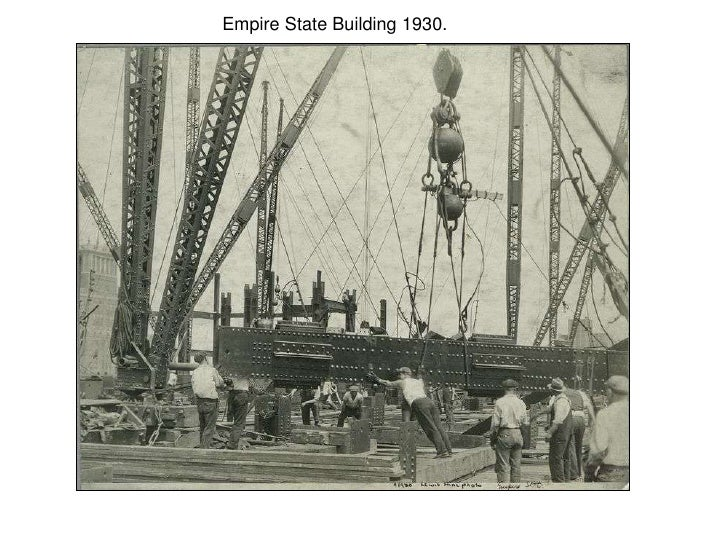 Empire State Building 1930.<br />