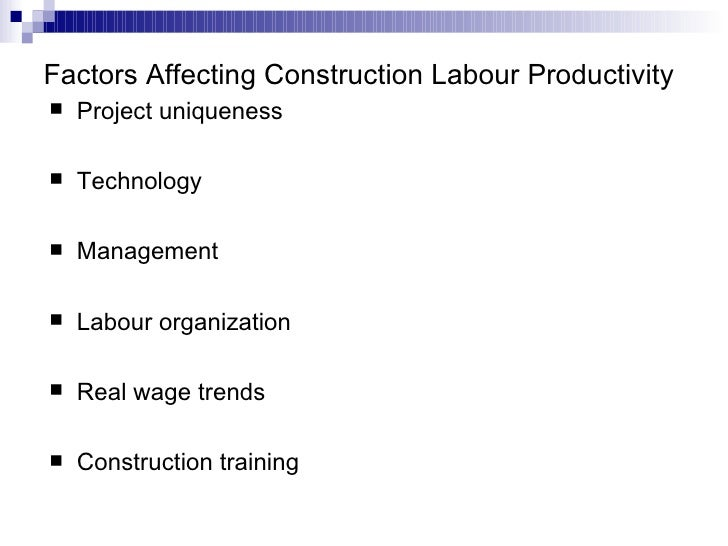 Top 9 Factors Determining Efficiency of Labour | Economics