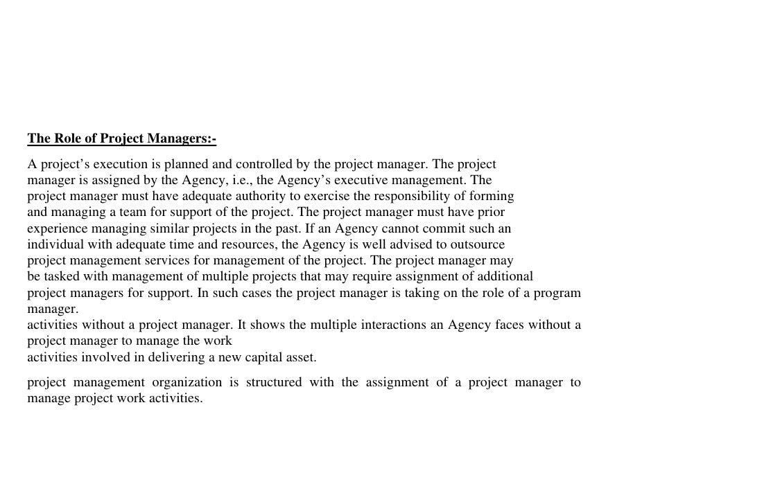 construction project managment techniques 6