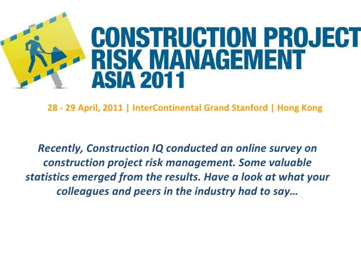 risk management and warehouse building project The unique nature of capital project risk generally calls for a special set of risk management solutions, including commercial insurance policies, capable of accommodating the different interests and exposures that accompany construction activities.