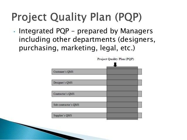 Quality Management Plan. 27 Project Management Plan Methodology 9 ...