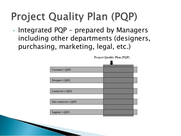 construction quality management plan construction